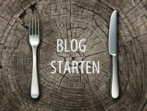 een blog starten