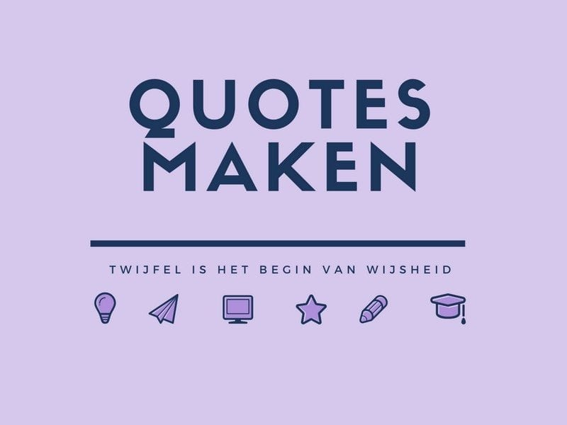 make quotes