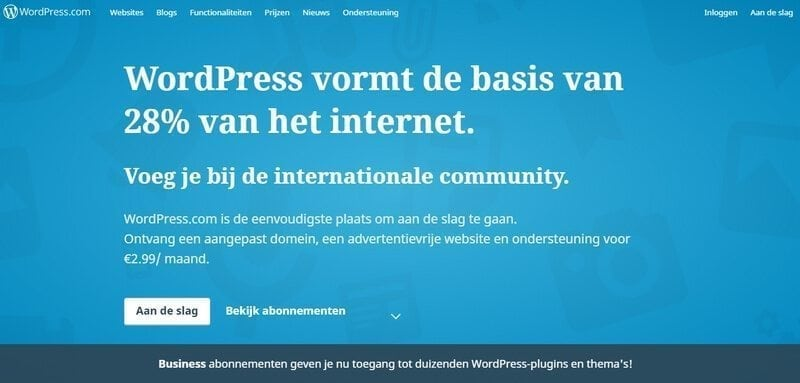 de ultieme gids, wordpress.com of wordpress.org