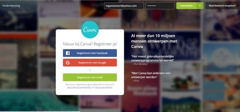 verbeter je website met canva