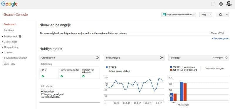 dashboard-google-search-console