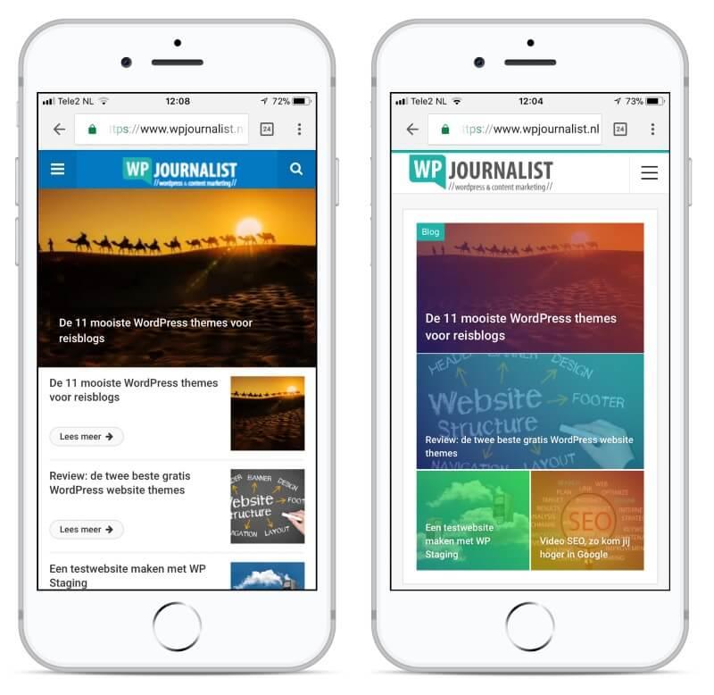 mobile first voor websites