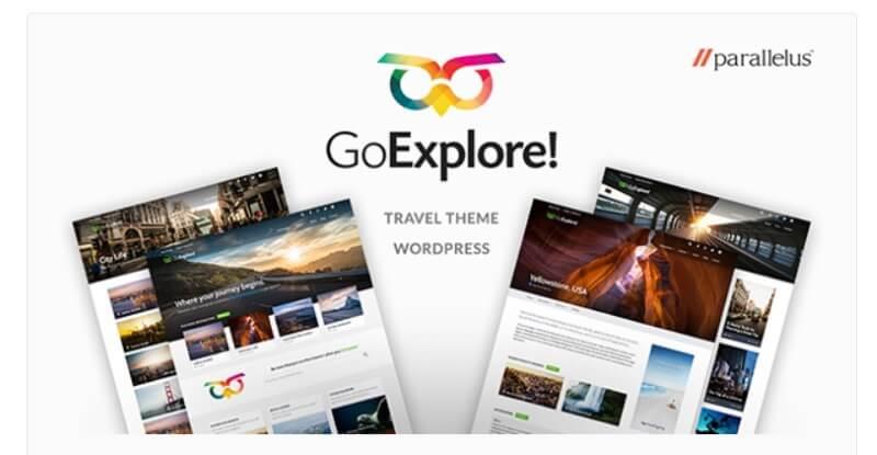 reisblog theme go explore