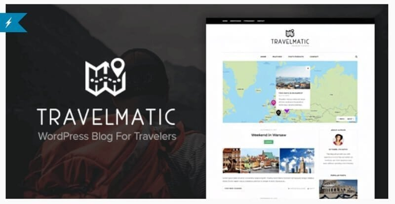 travelmatic reisblog theme