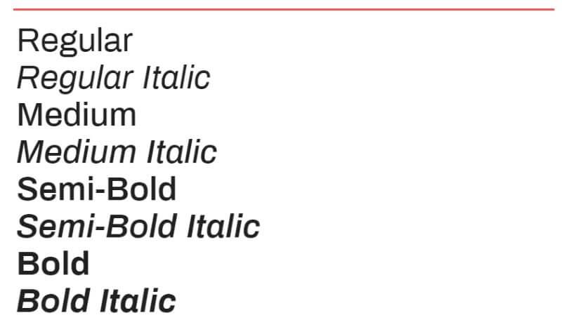lettertype archivo google fonts
