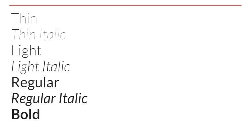 lettertype lato google fonts