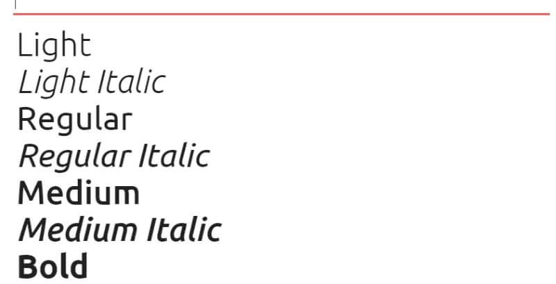 lettertype ubuntu google fonts