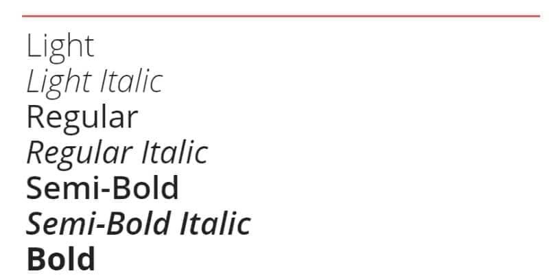 open sans lettertype google fonts