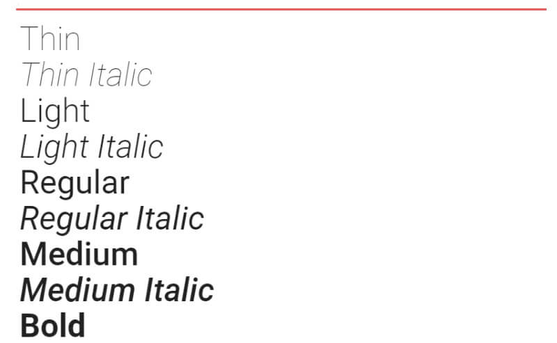 roboto lettertype google fonts