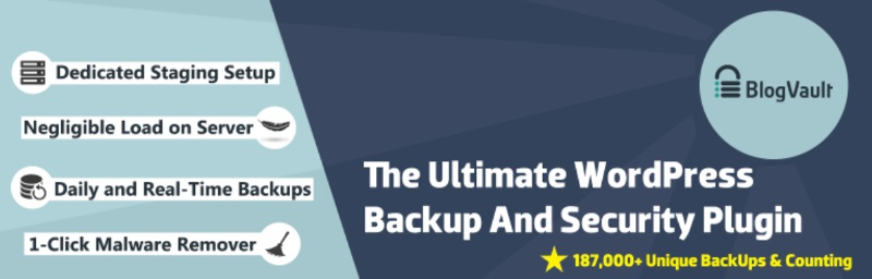 Blogvault backup plugin