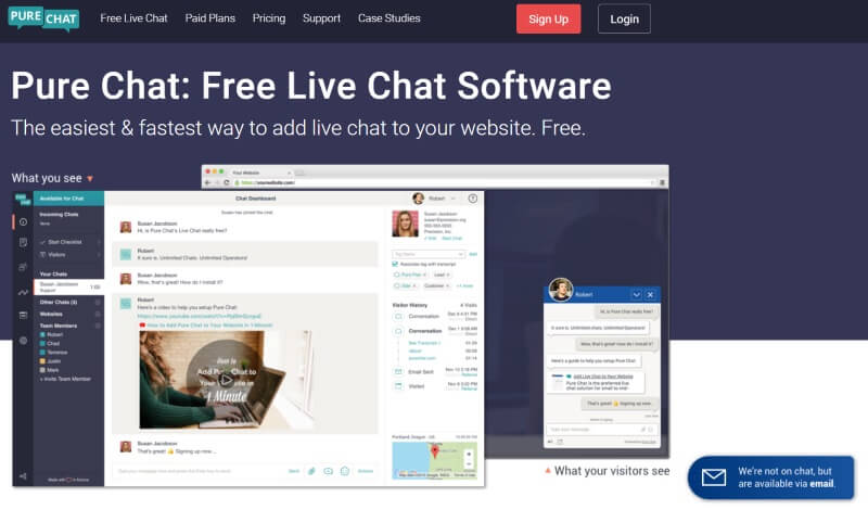 pure-chat-software