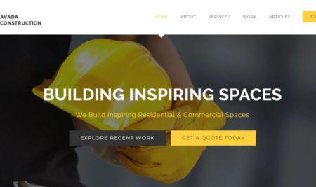 Dit zijn de 5 beste construction website templates voor WordPress